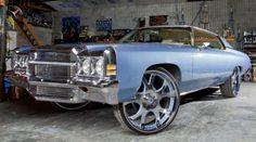 1972 Chevrolet Impala #Donk