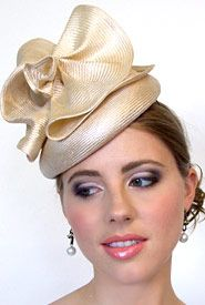 Fashion hat Psyche, designed by Melbourne milliner Louise Macdonald