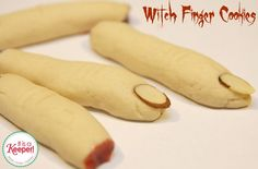 These Witch Finger cookies are one of my favorite Halloween recipes! They're one of my favorite easy desserts and perfect for a Halloween party.