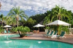 The Elephant Hills Resort is only 3 kilometres away from Victoria Falls on the Zambezi River which is the premier tourist destination of Zimbabwe in Southern Africa. This luxury hotel is under the expert care & management of Legacy Outside Pool, Hills Resort, Victoria Falls, Great Hotel, Hotel S, Zimbabwe, London Travel, Holiday Destinations, Best Hotels