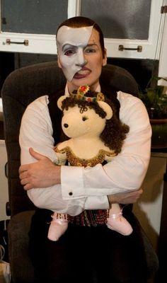 Hugh Panaro | The Phantom of the Opera | So cute!
