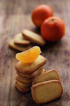 Biscotti rustici al mandarino | MIEL & RICOTTA