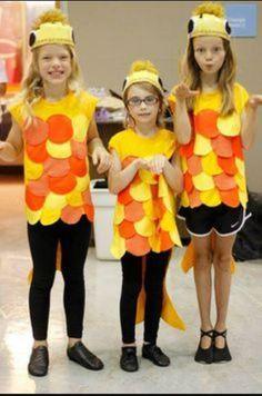 DIY Goldfish Halloween Costume Idea