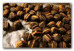 Chocolate-Orange Truffles- so sweet!
