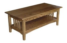 Mission Coffee Table | Schrock's Heritage Furniture