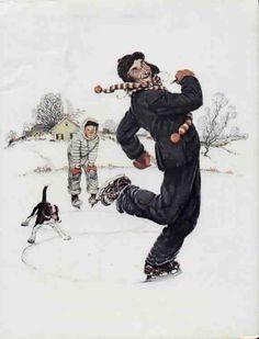 Four Seasons Grandpa and Me - Winter 1948