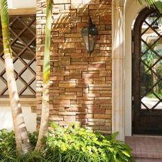 tuscan iron gates | Courtyard Gates - Sienna wrought iron Courtyard Gate by Cantera Doors #CourtYard #Landscape #Outdoor  ༺༺  ❤ ℭƘ ༻༻  IrvineHomeBlog.com