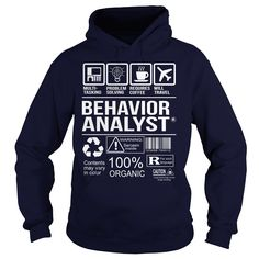 Awesome Shirt For Behavior Analyst T-Shirts, Hoodies. BUY IT NOW ==► https://www.sunfrog.com/LifeStyle/Awesome-Shirt-For-Behavior-Analyst-Navy-Blue-Hoodie.html?id=41382