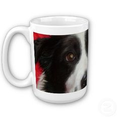 Border Collie Mug - Make a great unique gift for someone from your photos on Zazzle  http://www.zazzle.com/tim_the_border_collie_mugs-168125706596530075?rf=238110270365818601*