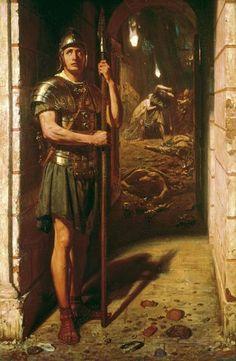 The Athenaeum - Faithful Unto Death (Sir Edward John Poynter - )