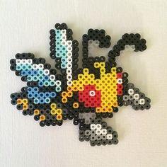 Beedrill (15) Pokemon perler beads by perlerplayland