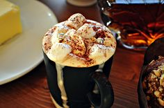 Mmm, the weather outside is frightful.. perfect for hot cocoa!