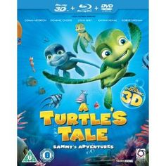 A Turtle's Tale: Sammy's Adventure (3D Blu-ray + Blu-ray + DVD)