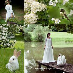 '' Green & White Spring '' by Reyhan Seran Dursun