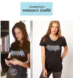 On the blog: Joan Watson's (Lucy Liu) black bat ...