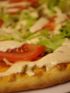 Kebabpizza, recept