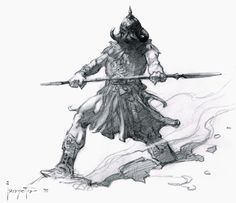 Cap'n's Comics: Another (yes, another!) Death Dealer by Frank Frazetta