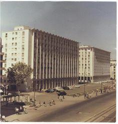 The Eva Building, bd. Bucharest, Socialism, Old City, Time Travel, Romania, Skyscraper, Past, Nostalgia, Multi Story Building
