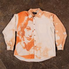 Who says a baggy bleached flannel shirt can't be... | Every Day a Shirt