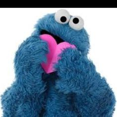 Happy valentines day cookie monster!