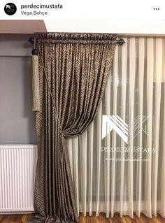 Door Window Treatments, Sliding Patio Doors, Window Dressings, Curtain Ideas, Modern House Design, Window Curtains, Windows And Doors, Interior Ideas, Diy And Crafts