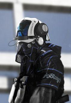[Bushido Police Armor] by Joseph Cross