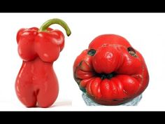 Unusually shaped fruits and vegetables that look like other things
