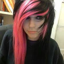 Scene hair..i want my hair to look like this but not the color