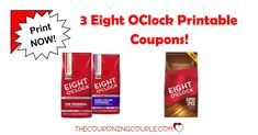 COFFEE DRINKERS! Print the 3 Eight OClock Printable Coupons with $7 in Savings! Print these savings as soon as you can!  Click the link below to get all of the details ► http://www.thecouponingcouple.com/eight-oclock-printable-coupons/ #Coupons #Couponing #CouponCommunity  Visit us at http://www.thecouponingcouple.com for more great posts!