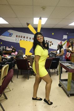 homemade pikachu costume homemade halloween costume diy - Pikachu Halloween Costume Women