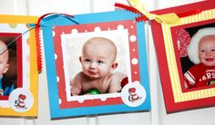 Month by Month-1st Year Photo Birthday Banner