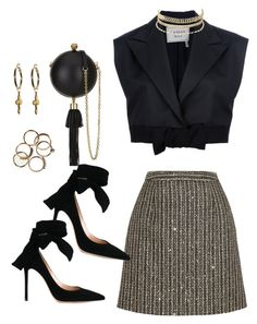 Yves Saint Laurent, Lanvin, Charlotte Russe, Alexander McQueen and Gianvito Rossi Look Fashion, Daily Fashion, Girl Fashion, Fashion Outfits, Fashion Design, Classy Outfits, Stylish Outfits, Beautiful Outfits, Stage Outfits