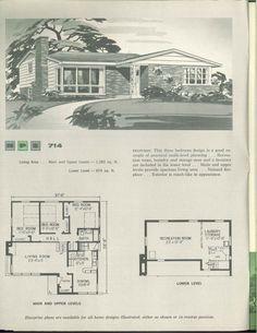 NPS multi-level homes 1961