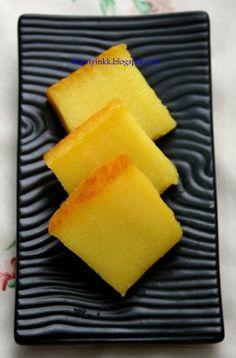 Table for 2.... or more: Bingka Ubi (Baked Cassava Cake) 木薯糕