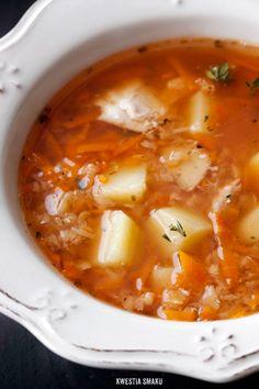 Zupa soczewicowa na mięsie