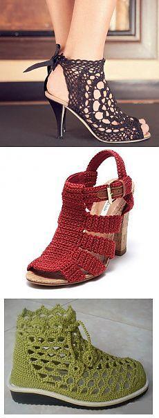Dzianiny obuwie (zdjęcia)