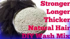 4c Hair Wash Day Routine Alternative: DIY Bentonite Clay Mud Wash Here's my diy bentonite clay cleanser mix. I use this to clean and detox my natural hair. M...
