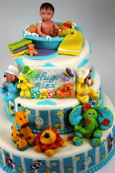 Recipes *Decorated Cakes & Deserts...Baby Shower Cake or 1st Birthday