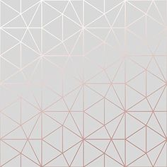 Metro Prism Geometric Triangle Wallpaper - Grey and Rose Gold - bedroom Metro Prism Geometric Triangle Wallpaper - Grey and Rose Gold - Rose Gold Bedroom Wallpaper, Iphone Wallpaper Rose Gold, Rose Gold And Grey Bedroom, Rose Gold Rooms, Gold Bedroom Decor, White Wallpaper, Gray Bedroom, Bedroom Ideas, Wall Paper For Bedroom