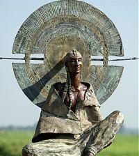 Kunst - beeld - Rieke van der stoep - Sjamaan