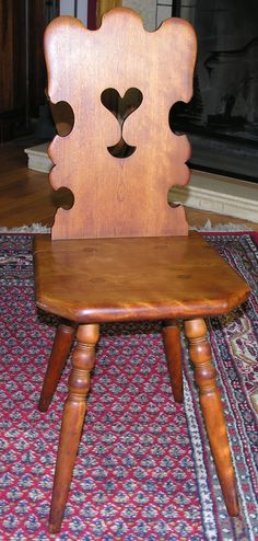 Gustav Stickley signed chair