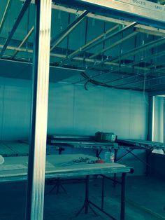 Our new offices are taking shape now. Building work is moving fast.
