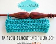 How to Half Double Crochet in the Third Loop