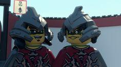 Lego Ninjago Time Twins Krux and Acronix