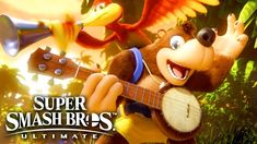 Everyone's favorite platforming Bear and Breegull are looking for a coming as DLC to the the Smash Bros Ultimate Fighter Pass! Banjo Kazooie, Sonic Mania, Gaming Rules, Nintendo, Super Smash Bros, Card Games, Twitter Twitter, Make It Yourself, Google News