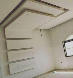 Interior Design Bedroom, House Ceiling Design, Ceiling Design Living Room, Bedroom Bed Design, Master Bedroom Design, Bedroom Door Design, Plaster Ceiling Design, Ceiling Decor, Luxury Bedroom Design