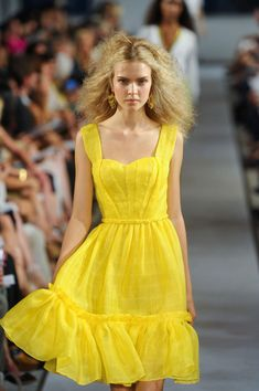 Oscar de la Renta - New York Fashion Week Spring, 2012
