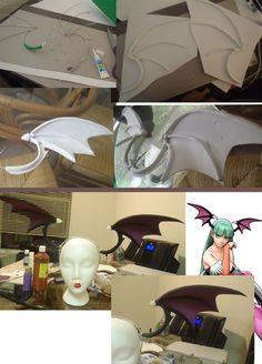 Morrigan Aensland Wing Process by Lyoko-Naka.deviantart.com