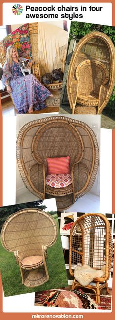 After attending the 2016 Hukilau, I'm again OBSESSEDwith tiki. So much so that my living room is now all torn up, pending a step-by-step transformation to an all-out Suburban Savage Paradise. It will be EPIC. One thing itwill include: A Peacock chair, already in my possession. But, while shopping around for other stuff, I discovered …