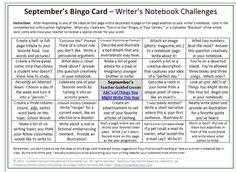 creative writing classroom ideas middle school - Google Search